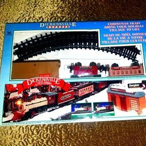 Vintage DicksonVille Train Set